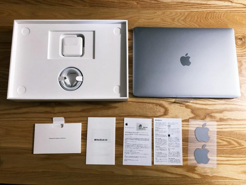 Macbook Air開封