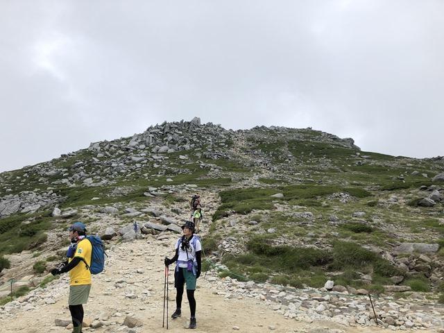 木曽駒ヶ岳最後の坂