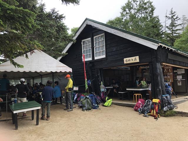 燕岳登山合戦小屋