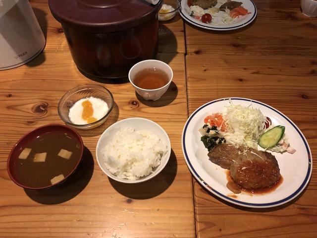 燕山荘夕食