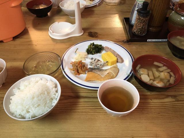 燕山荘朝食